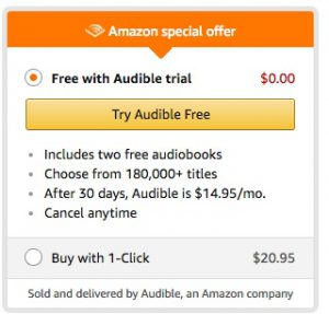 You can try Amazon Audible for free