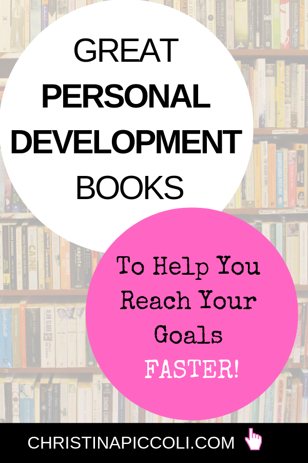 Personal Development Books for Pinterest