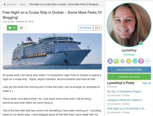 Free Night on a Cruise Ship