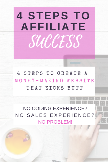 4 Steps to Affiliate Success