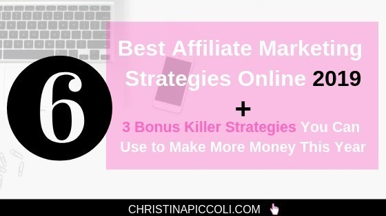 Best Affiliate Marketing Strategies Online