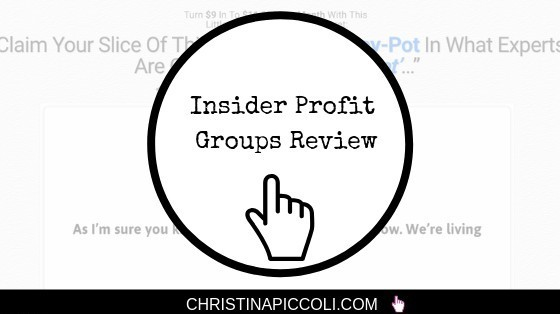Insider Profit Groups Review