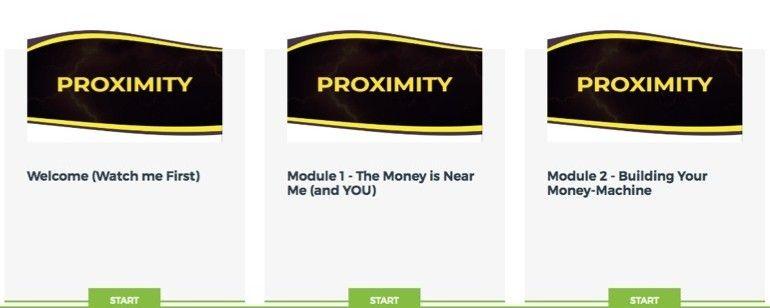 Proximity Modules 1