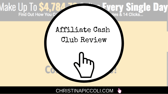 Affiliate Cash Club Review