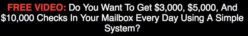 Cash Finder System Review - outlandish headline