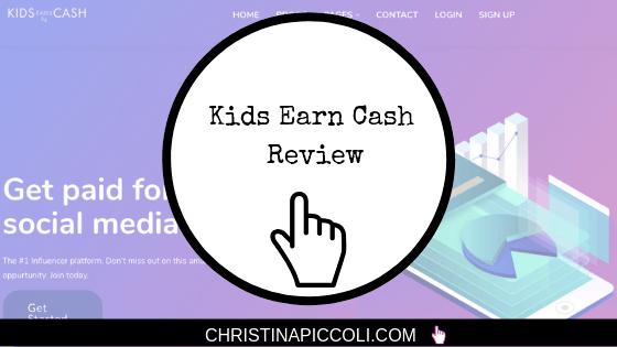 Kids Earn Cash Review