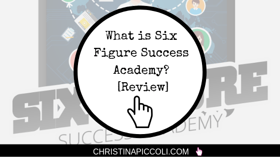 Buying Six Figure Success Academy   Course Creation