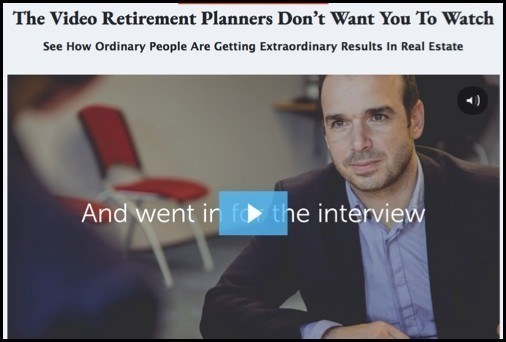 Real Estate Retirement Plan is not really about real estate