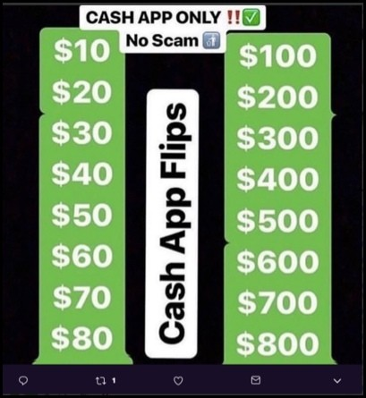 Cash App Flipps Scam