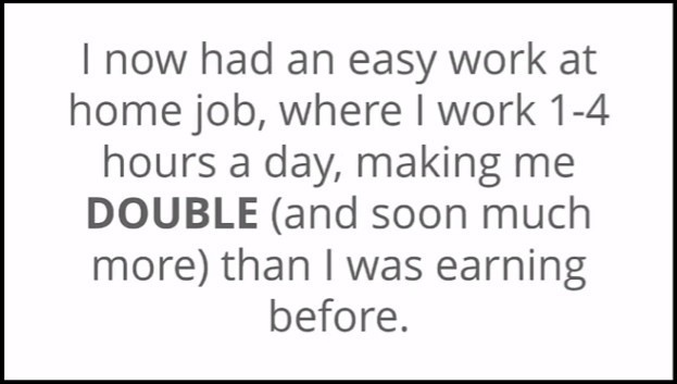 Online Income offers easy work?