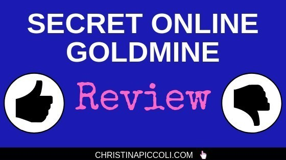 Secret Online Goldmine Review