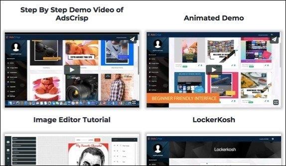 AdsCrisp Training videos