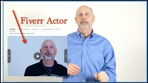 Cash Sniper Actor from Fiverr
