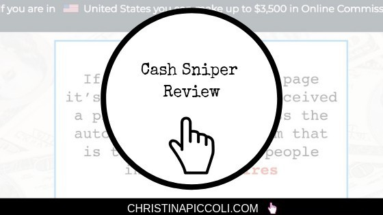Cash Sniper Review