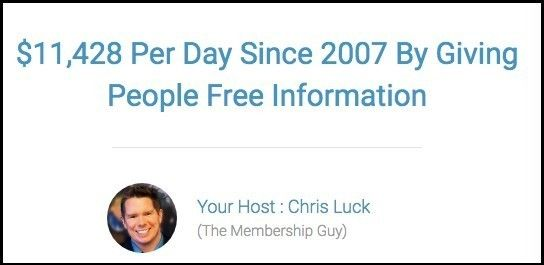 Membership Method Review - Make $11k per day?