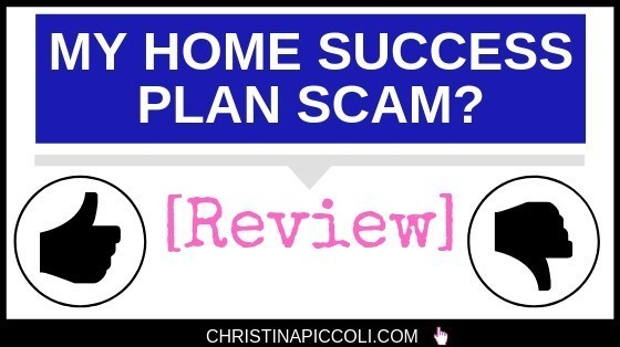 My Home Success Plan Scam