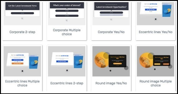 Customize Thrive leads templates to your liking.