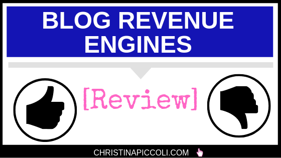 Blog Revenue Engines Review