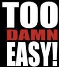 Too Damn Easy review - logo