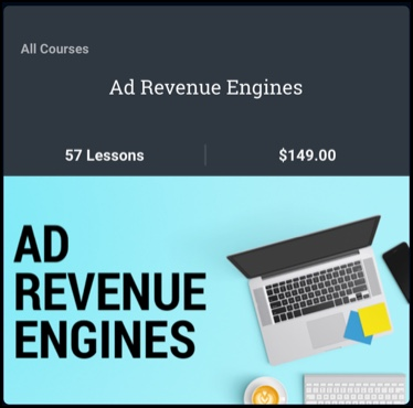 Ad Revenue Engines is $149