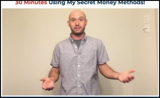 30 Minute Money Methods testimonial is an actor.