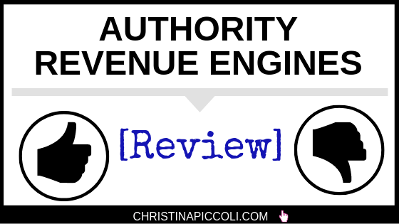 Authority Revenue Engines Review