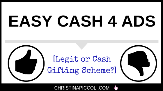 Easy Cash 4 Ads review