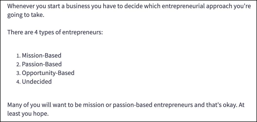 Affiliate Revenue Engines - 4 types of entrepreneurs