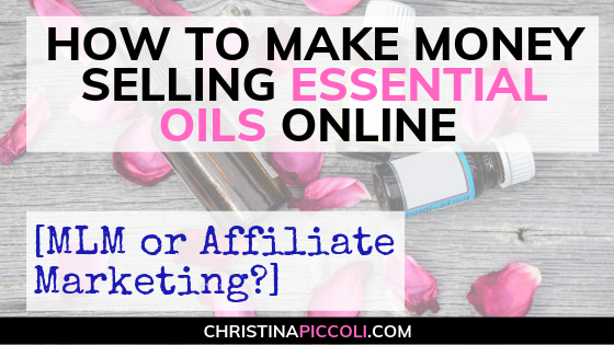 How to Make Money Selling Essential Oils Online