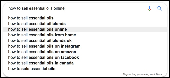 Google can give you keyword ideas easily.