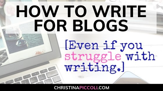 How to Write for Blogs