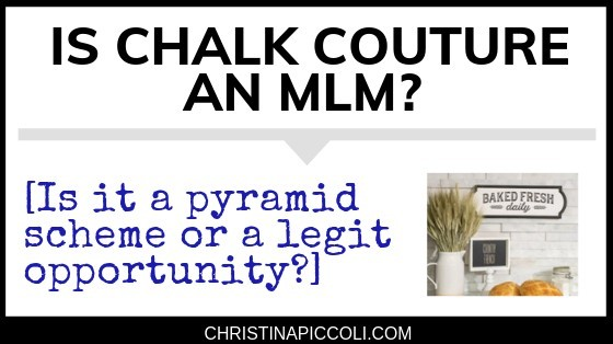 Is Chalk Couture an MLM?