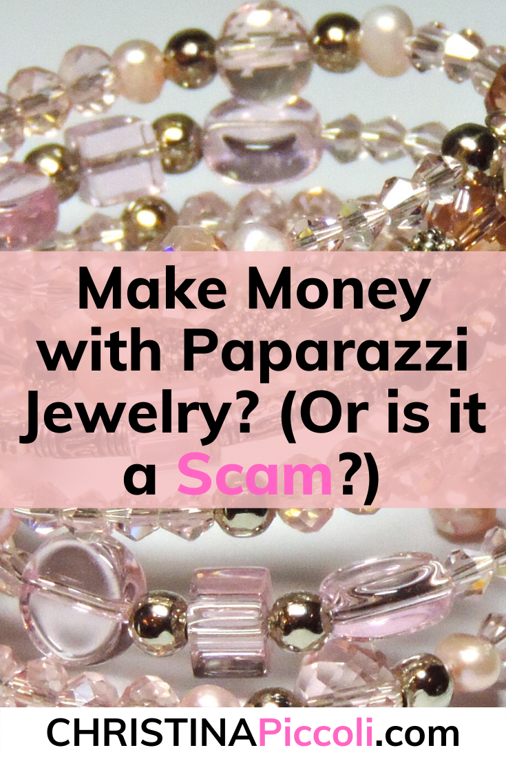 Is Paparazzi Jewelry a scam for Pinterest.