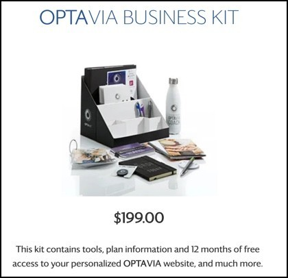 Optavia Business Kit