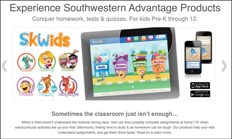 Southwestern Advantage Products