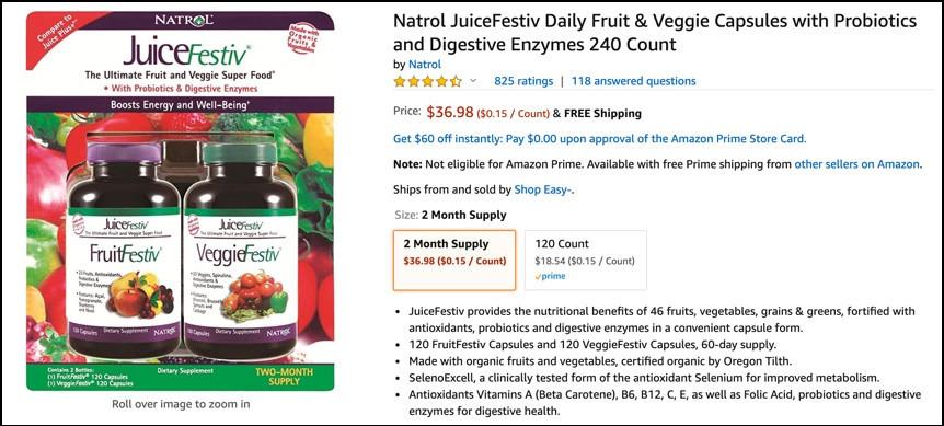 Juice Plus+ Alternative