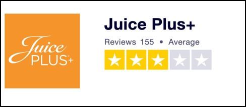 Juice Plus+ Trustpilot reviews
